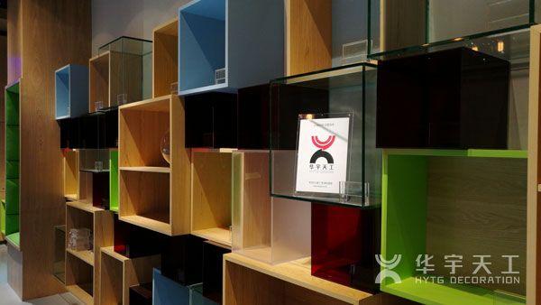 深圳商铺装修 - 高档创意格子商铺-商铺装修设计图片